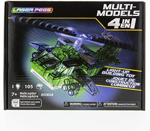 Laser Pegs 4 in 1 Helicopter product image