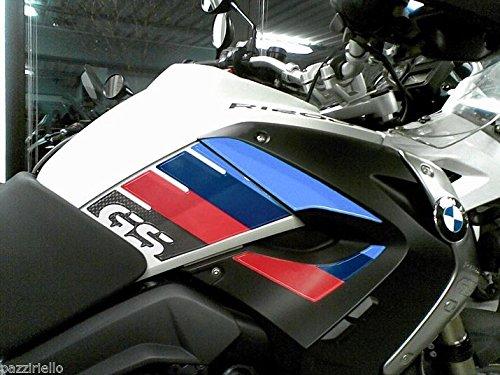 KIT ADESIVI 3D PROTEZIONI LATERALI compatibile con BMW 1200 MOTO GS R1200 2008-2012