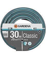 "GARDENA Classic slang 13 mm (1/2"") 30 m: Universele kruisgeweven tuinslang, 22 bar barstdruk, druk- en uv-bestendig (18009-20)"