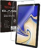 TECHGEAR Matt Panzerglas kompatibel mit Samsung Galaxy Tab S4 10,5 (SM-T830 Serie) - Matte Blendschutz Panzerglas Auflage, Original-gehärtetes Glas-Bildschirmschutzfolie