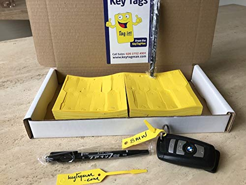 1.000 etiquetas para llaves de coche para identificar tus coches, barcas, caravanas, vehículos comerciales o motocicletas