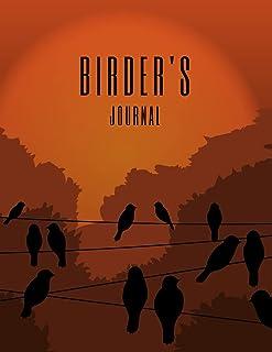 Birder's Journal: Bird Watcher Gifts - Paperback Journal to write in