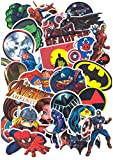 SetProducts ⭐ Top Pegatinas !⭐ Juego de 32 Pegatinas de Superhéroes Marvel Vinilos - No Vulgares - Deadpool, Hulk, Superman, Spiderman - Personalización, Scrapbooking, Bullet Journal