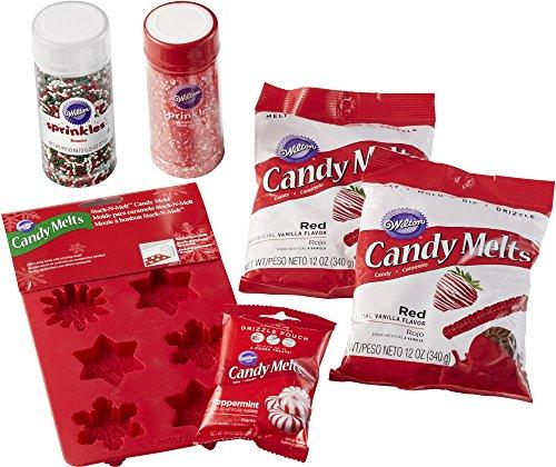 Wilton Candy Snowflake Set