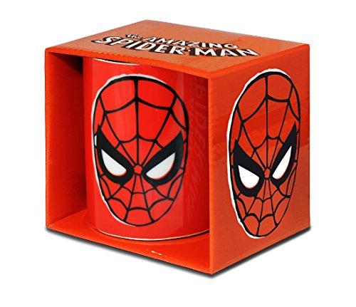 Logoshirt Marvel Comics - Superheld - Spider-Man - Maske - Porzellan Tasse - Kaffeebecher - farbig - Lizenziertes Originaldesign