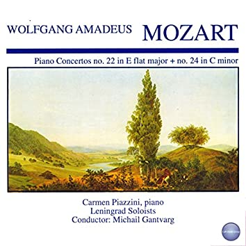 Mozart: Concerto for Piano and Orchestra No. 22 in E Flat Major, KV 482 - Concerto for Piano and Orchestra No. 24 in C Minor, KV 491