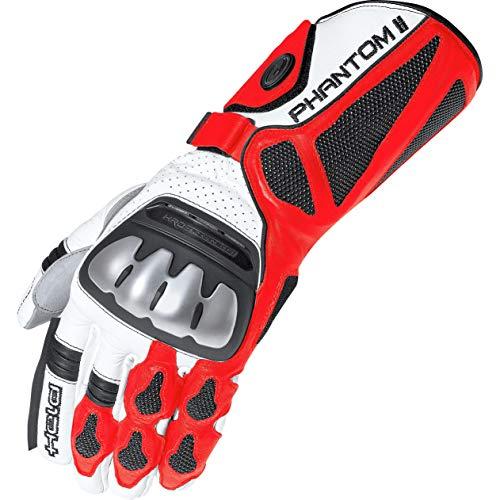 Motorcycle Held Gloves Phantom II 10 White Red Black