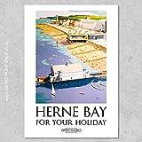 AZSTEEL BR Herne Bay Poster #2 Poster No Frame Board for