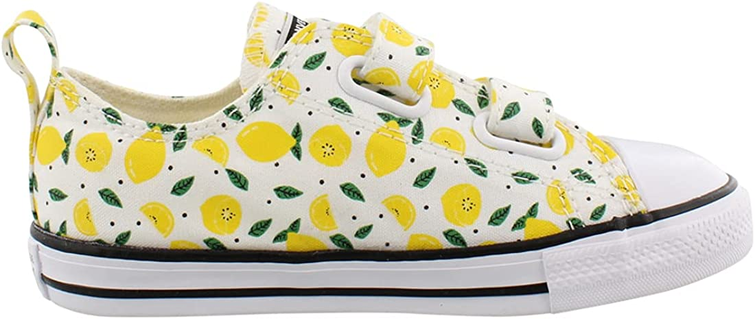  Converse Unisex-Child Chuck Taylor All Star 2v Low Top Sneaker   Sneakers