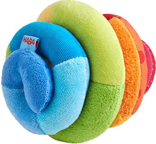 HABA- Balle en Tissu Spirale, 305090