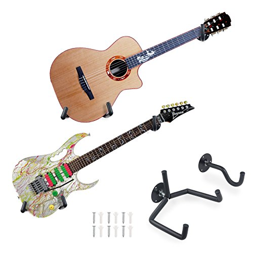 Guitar Wall Mount Slatwall Horizontal Guitar Wall Hanger Holder Bass Rack Hook