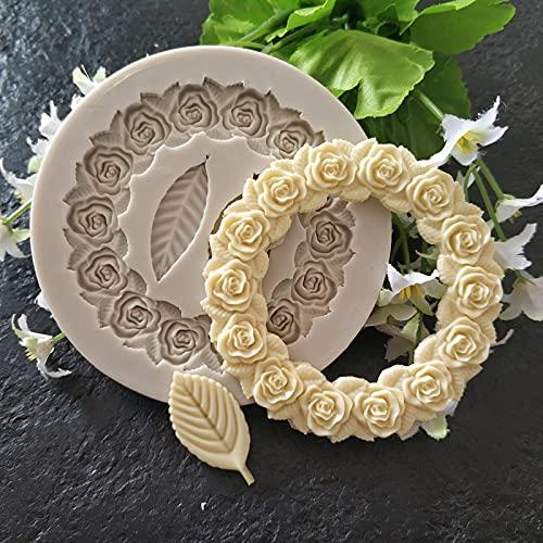 FEINIAO Accesorios de decoración de la Torta del Molde de la lámina de Silicona Accesorios de Chocolate