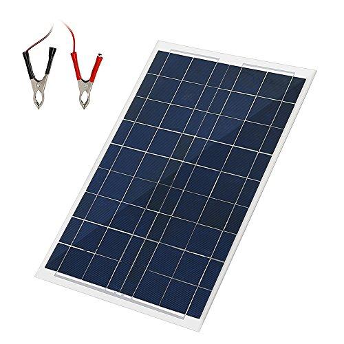 HimanJie 20W 30W 50W Cargador Panel Solar Placa Solar doblado y portátil,...