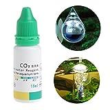 Dabixx Indicador de CO2 para Acuario, solución de Peces, Tanque líquido, Plantas de ensayo
