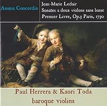 J.M.Leclair Sonatas Two Violins 3 First Book