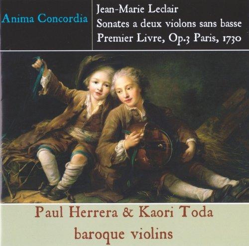 J.M.ルクレール 2本のヴァイオリンのためのソナタ集第1巻