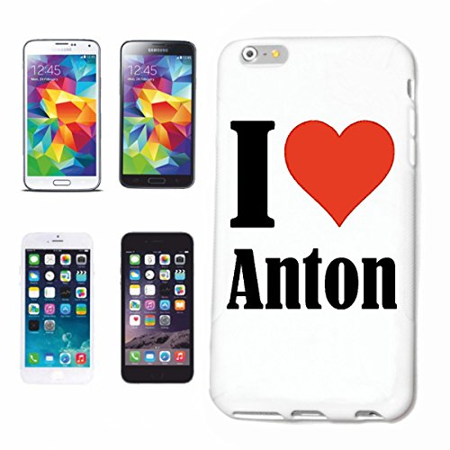 Reifen-Markt Handyhülle kompatibel für iPhone 7 I Love Anton Hardcase Schutzhülle Handy Cover Smart Cover