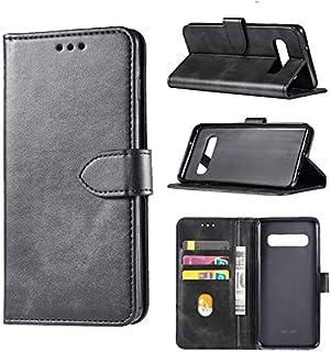 جرابات محفظة - جراب جلدي قلاب لهاتف Galaxy S5 S6 S7 edge لهاتف Galaxy S8 S9 S10 Plus جراب محفظة (S7 edge)
