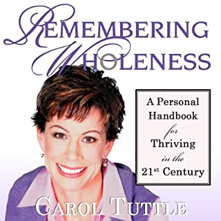 Remembering Wholeness audiobook cover art