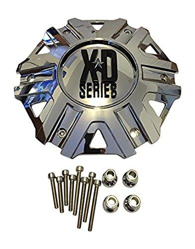 KMC XD Series Monster II 2 Cap M-959 Chrome Wheel Center Cap
