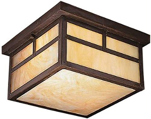 lowest Kichler outlet sale 9825CV, La Mesa Solid Brass Outdoor Ceiling Lighting, 150 Total sale Watts, Canyon View,2-Light outlet sale
