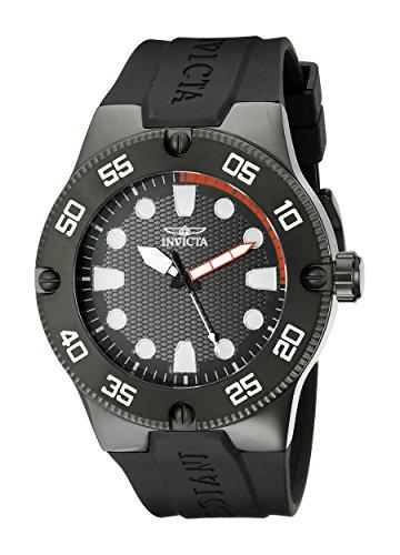Invicta 18026SYB - Reloj de Cuarzo para Hombre, Correa de Silicona Color...
