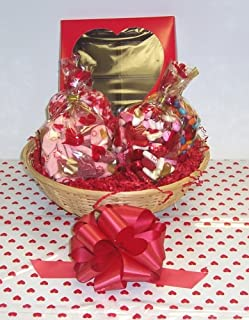 Scott's Cakes Large Cupids Helper Valentine Basket no Handle Heart Wrapping