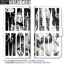 301-sanmaruichi- iPhone6splus ケース iPhone6plus ケース 手帳型 おしゃれ マリリン モンロー デニム タトゥー tattoo バンダナ ペイズリー セメント エレファント C 手帳ケース