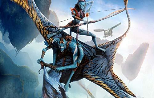 ZASX Puzzle 1000 Puzzles,Película de Ciencia ficción Avatar/Educational Game para Adolescentes Adultos Niños Entretenimiento