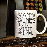 Taza de café original Jo Gaines Spirit Animal As Seen On Chip Gaines Instagram de 325 ml de cerámica para café o té Festival
