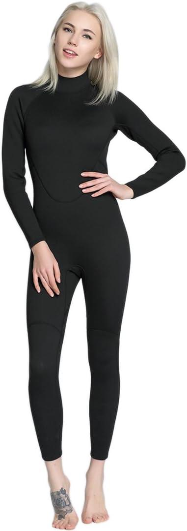 Micosuza Womens Full Wetsuits store Neoprene Max 59% OFF Premium Sleeve Long