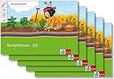Nutzpflanzen 3/4: Übungsheft im 5er-Paket Klasse 3/4 (Mein Anoki-Übungsheft)