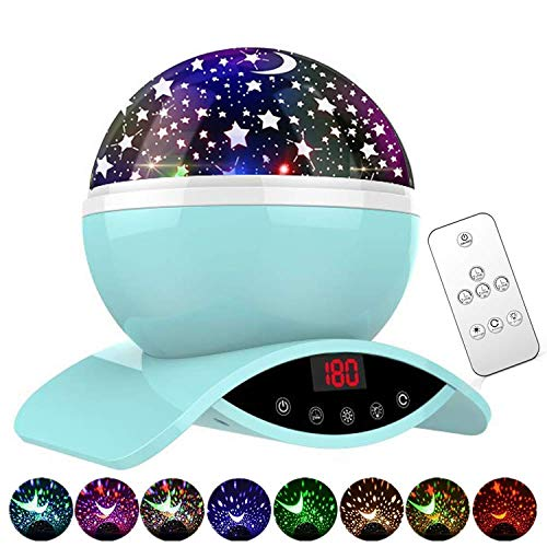 Homcasito Star Projector Christmas Gifts for Kids Teen Girls Night Light Projector Remote Control with Timer Star Lamp