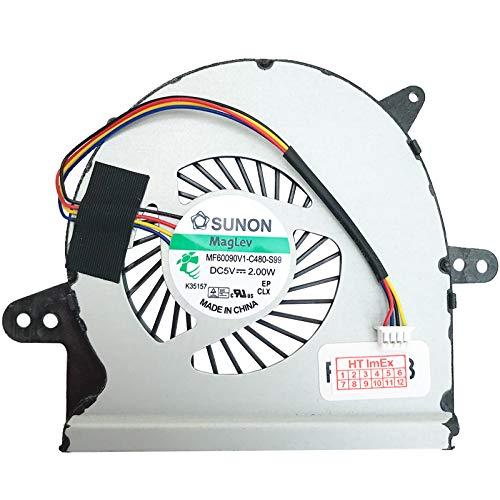 (Version 1) Lüfter Kühler Fan Cooler kompatibel für Asus X401U-WX030D, X401U-WX099D, X401U-WX011D, X401U-WX052D, X401U-WX032V, X401U-WX107S