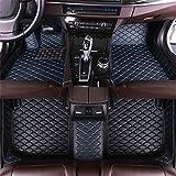 GLLXPZ Alfombrillas de Coche Personalizadas, para Toyota Prius Plus Avensis Verso 2010-2020, Alfombrillas Antideslizantes con Revestimiento Completo