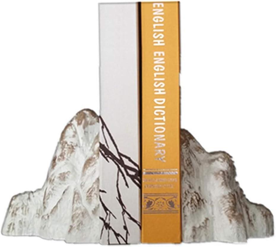 JF-XUAN Bookends Creative Snow Washington Mall Mountain Overseas parallel import regular item Magazine S Resin Bookend