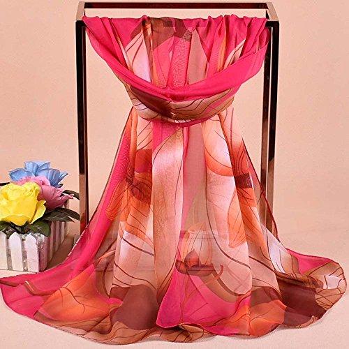 PowerFul-LOT Chèche Écharpe Homme Femme Marque Coton Foulard Les Femmes Ont imprimé Le chle Doux de chle de Wrap écharpe d'écharpes