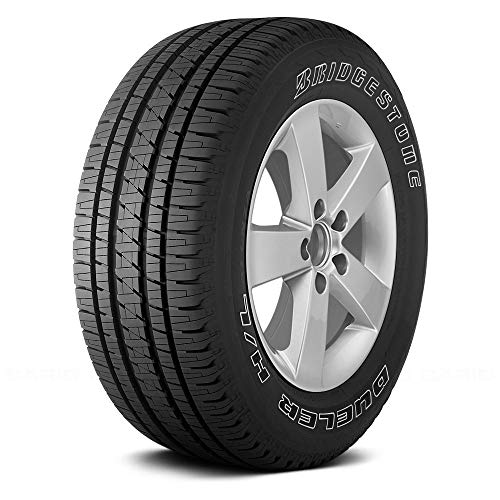 Bridgestone Dueler HL 275/55R20 Tire - Alenza with Outlined White Lettering - All Season -...