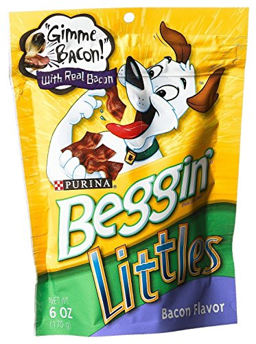 Beggin Littles Bacon Flavored 6OZ Dog Treat (Pack of 2)