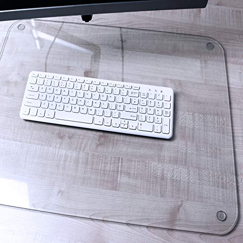 "Desktex Glacier Glass Desk Mat 20"" x 36"""