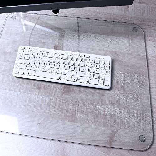 Desktex Glacier Glass Desk Mat 20' x 36'