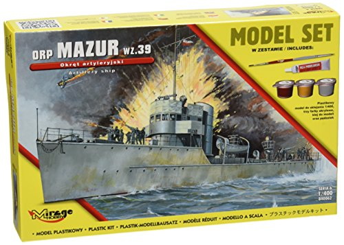 Mirage Hobby 840062 – Modélisme Jeu de orpmazur WZ. 39 The Gunnery Ship