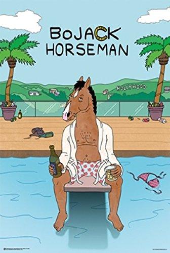 BoJack Horseman Pool Poster Drucken (60,96 x 91,44 cm)