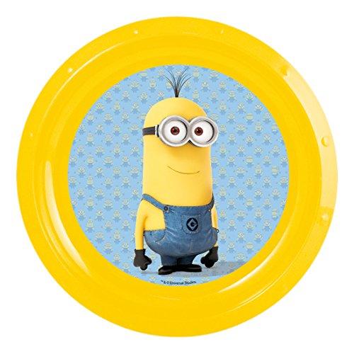 Teller Minions-Despicable Me Plastik gelb ca. 22 cm