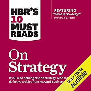 HBR's 10 Must Reads on Strategy cover art