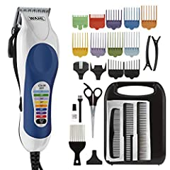 COLOR CODED FOR PRECISION: The Wahl Color Pro line of clippers has color coded guide combs and keys, making it easy to match the correct comb, setting, and style. Cut hair confidently, knowing you'll get a smooth, high quality trim and cut every time...