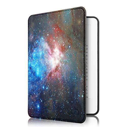Capa Kindle Paperwhite à Prova D'água WB - Ultra Leve Auto Hibernação Sensor Magnético Silicone Flexível Cosmos