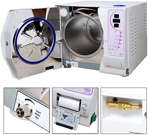 BONEW OFFicial store 12L Autoclave Vacuum Pressure cheap Data Printer With 110V Steam