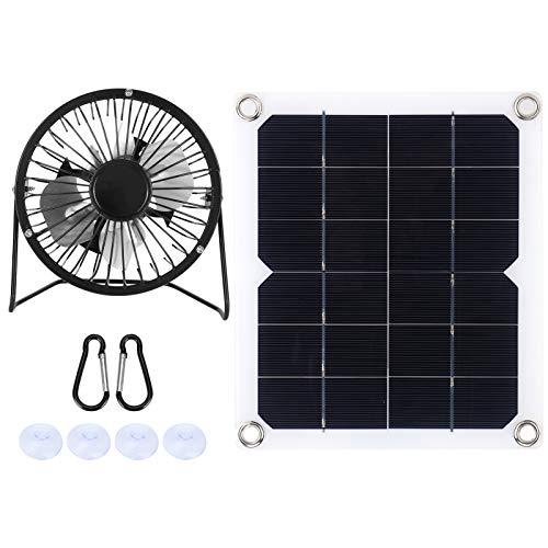 CUTULAMO Conjunto de Paneles solares, Panel Solar, tamaño pequeño, energía Solar, Alta Estabilidad para Turismo, para baterías de automóviles