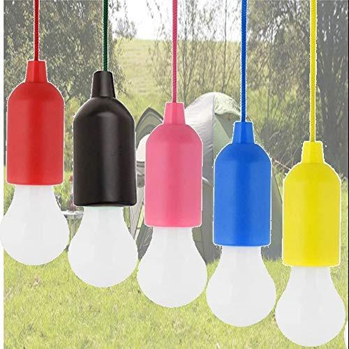 Terryshop74 Lampadina LED Colors Portatile Senza Fili Luce Bianco Freddo Torcia da Esterno Interno Si ACCENDE in Un Click Giardino Guardaroba Colore Casuale